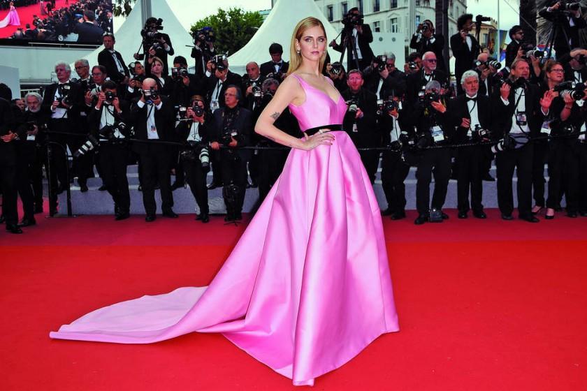"""Chiara Ferragni llega para la proyección de """"Sink Or Swim"""" en Cannes, Francia EFE/EPA/Clemens..."""