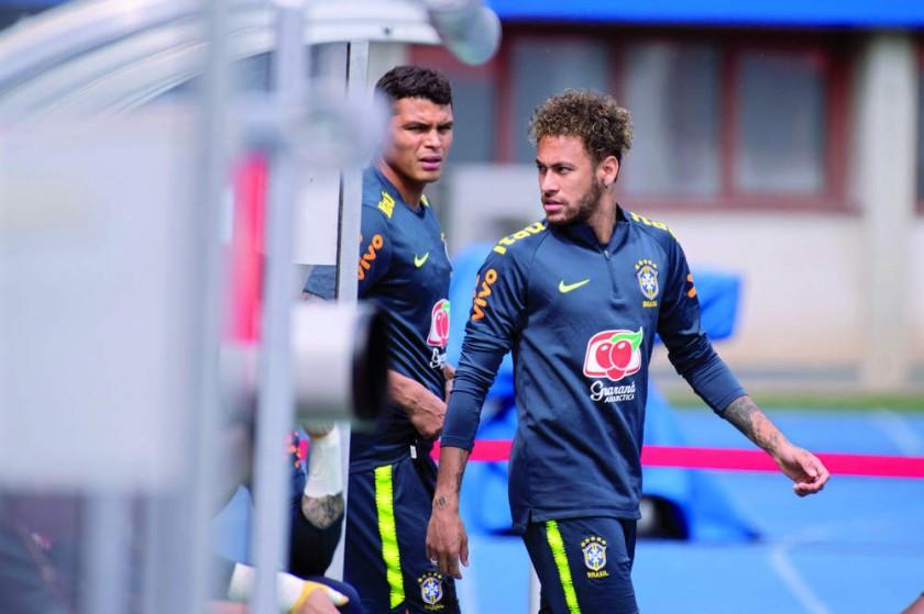 El astro brasileño ya se encuentra recuperado de su lesión.