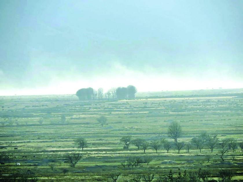 Vientos causan daños en cinco municipios