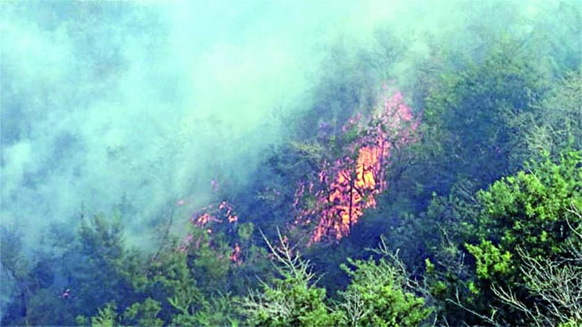 PROBLEMAS. Incendios en el sur del país y heladas en el occidente causan sobresalto.