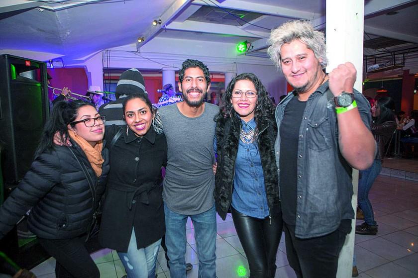 Alicia Rodríguez, Alejandra Rivero, Joaquín Aragón,  Mónica Azurduy y Jorge Agustín.