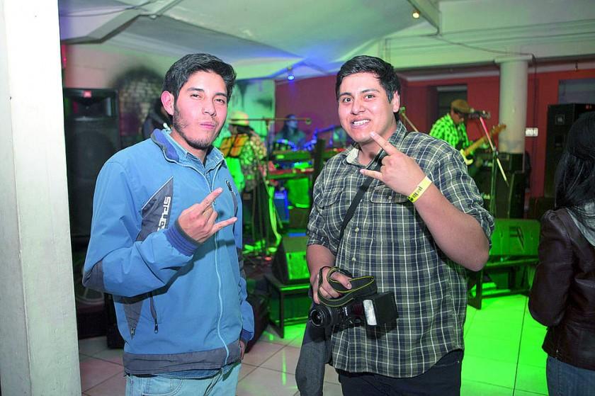 Enrique Castro y Luis Loayza.