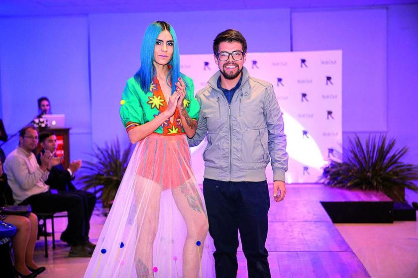 Valerie Monic y Sebastián Zárate.