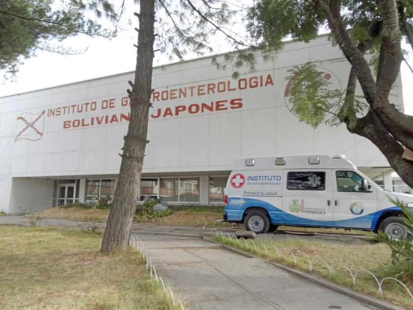 SALUD. El Hospital Gastroenterológico en Sucre se fundó el 22 de marzo de 1978.