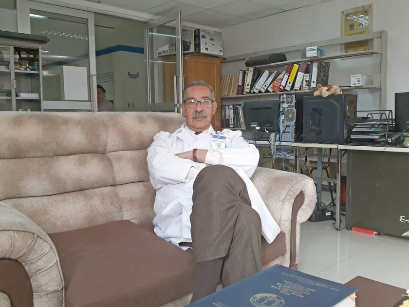 INICIOS. El doctor René Fortún