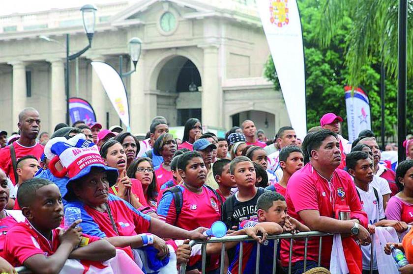 Panamá se paralizó para presenciar el debut mundialista de su selección.