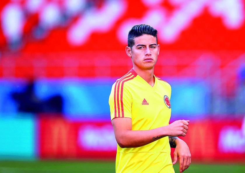 Colombia volvió a coincidir en la fase de grupos con Japón. Poco antes del encuentro de hoy la principal duda era James