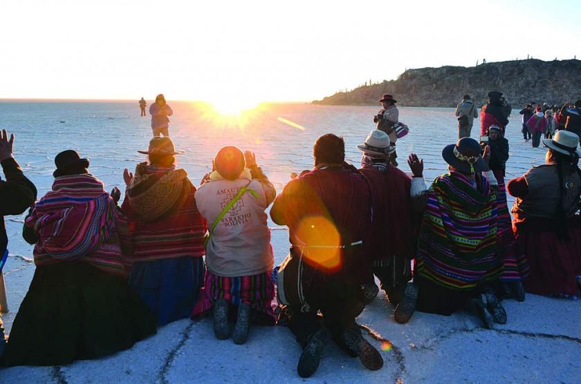 Bolivia recibe hoy con ritos el Año Nuevo Andino Amazónico 5.526