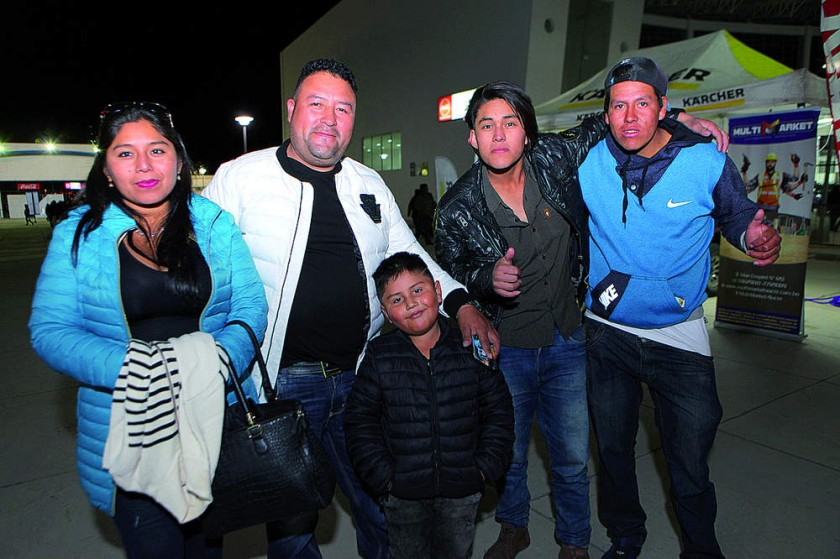 Familia Benito Melendres.