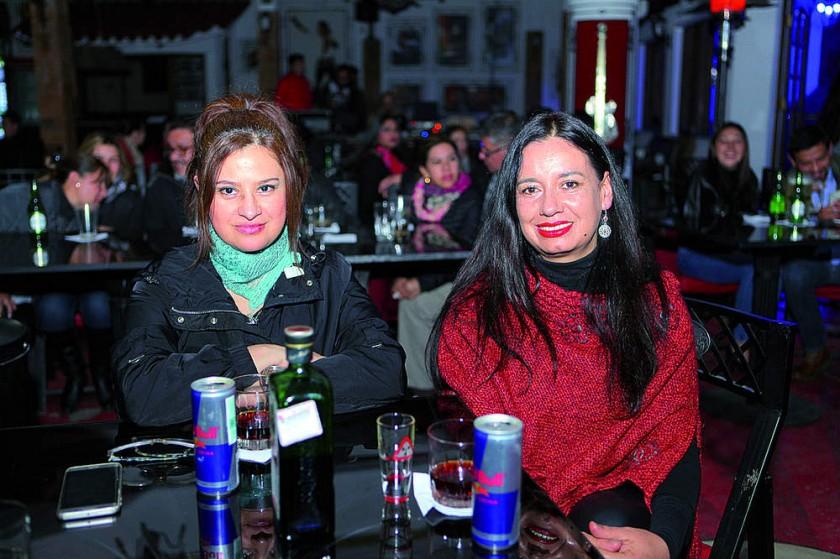 Jenny Campero y Angélica Ocampo