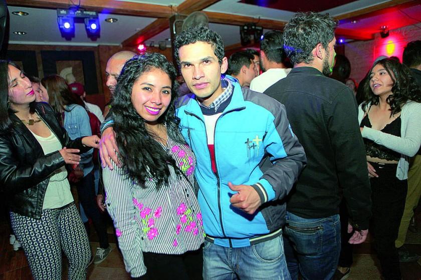 Jessica Taboada y Mauricio Estrada.