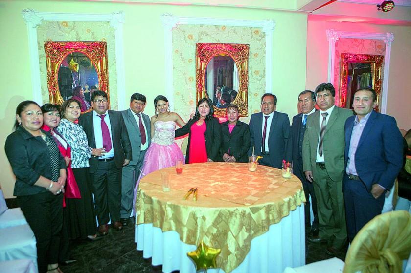 Familia Huanca.