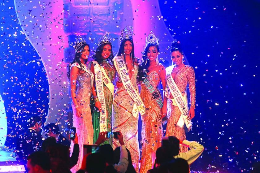 Chuquisaca brilla en Miss Bolivia
