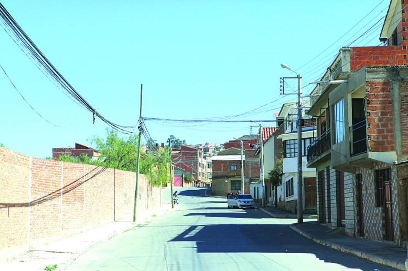 TRABAJOS. Hace pocos días, la Alcaldía entregó las obras concluidas de dos calles en el barrio del Benemérito.