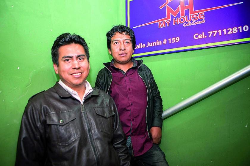 Eduardo Fernández y Richard Cuizara.