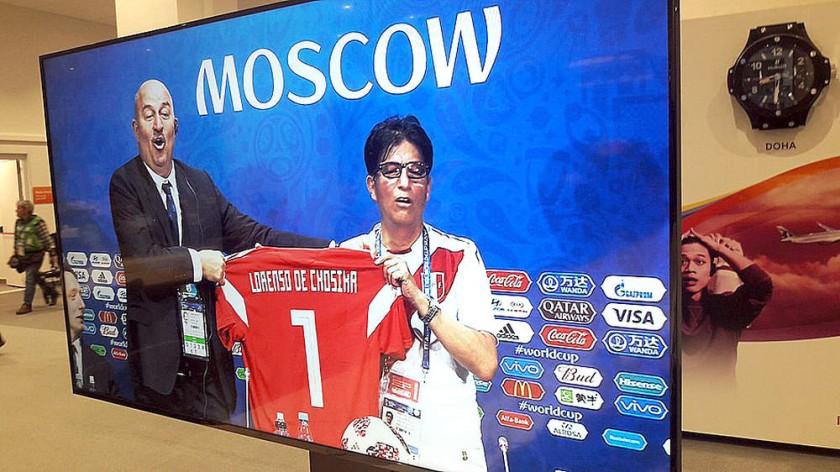 Dt ruso celebra con peruano