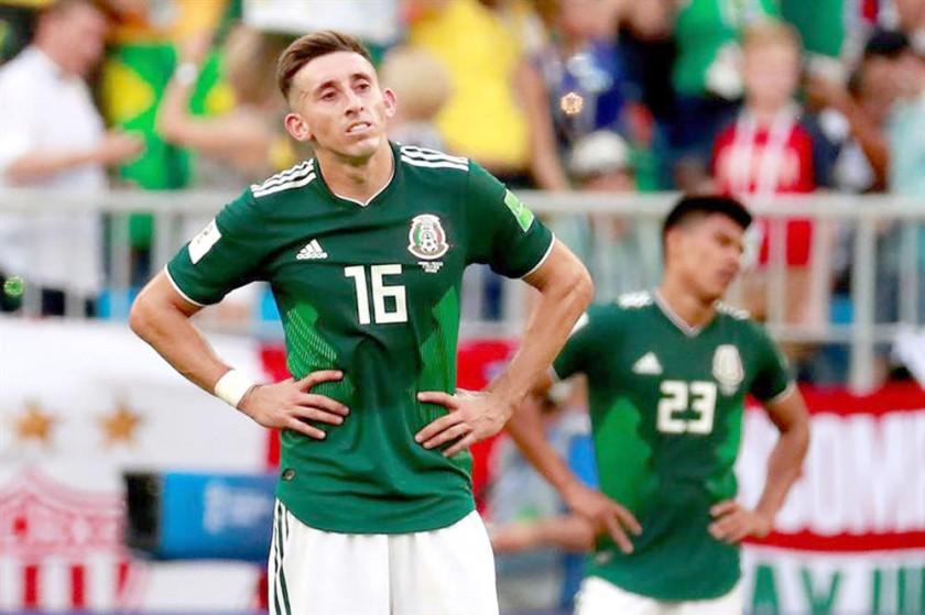 Héctor Herrera refleja la desazón mexicana por la eliminación.