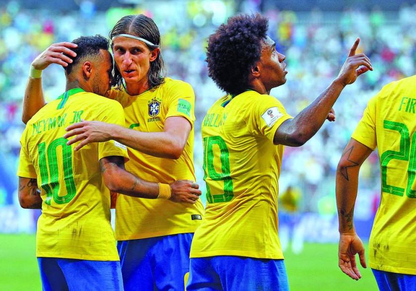 Brasil y Francia son dos de las ocho selecciones clasificadas a los cuartos de final del Mundial Rusia 2018; las...