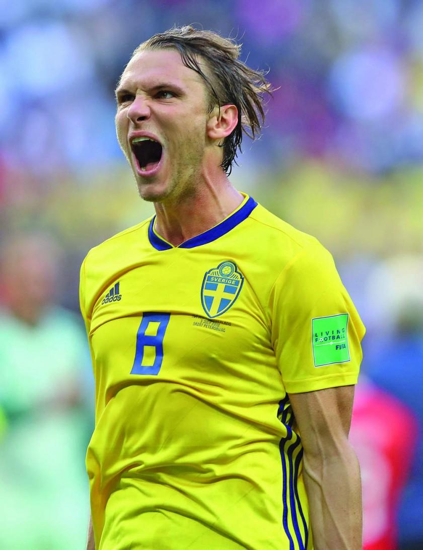 Inglaterra y Suecia protagonizarán uno de los dos duelos de cuartos.