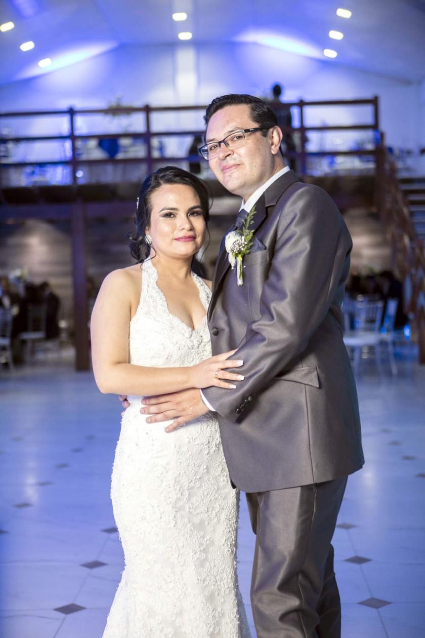 Erika Saucedo Padilla y Gustavo Ramallo Pedrazas.