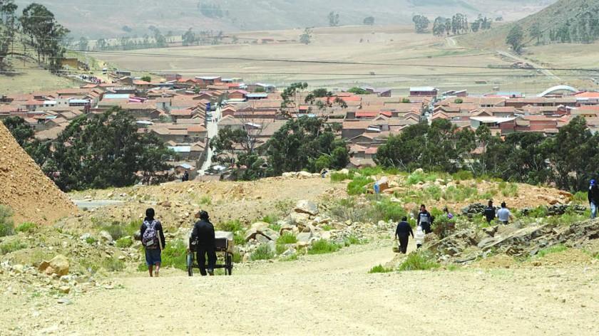 HECHO. El caso de violencia contra la mujer ocurrió en el municipio de Tarabuco.