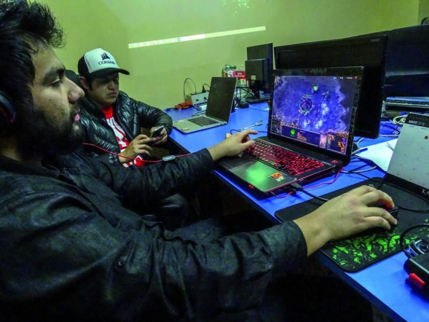 """Mi profesión es…""""gamer"""""""
