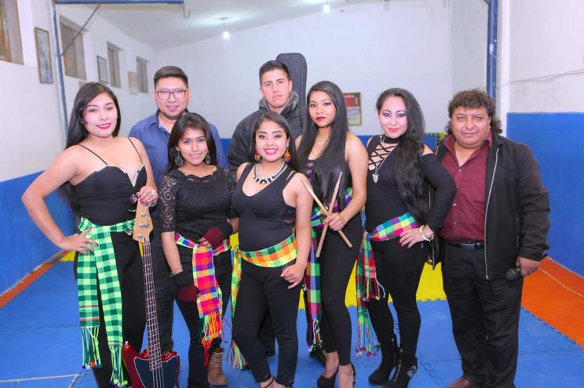 Agrupación Sisay Bolivia.