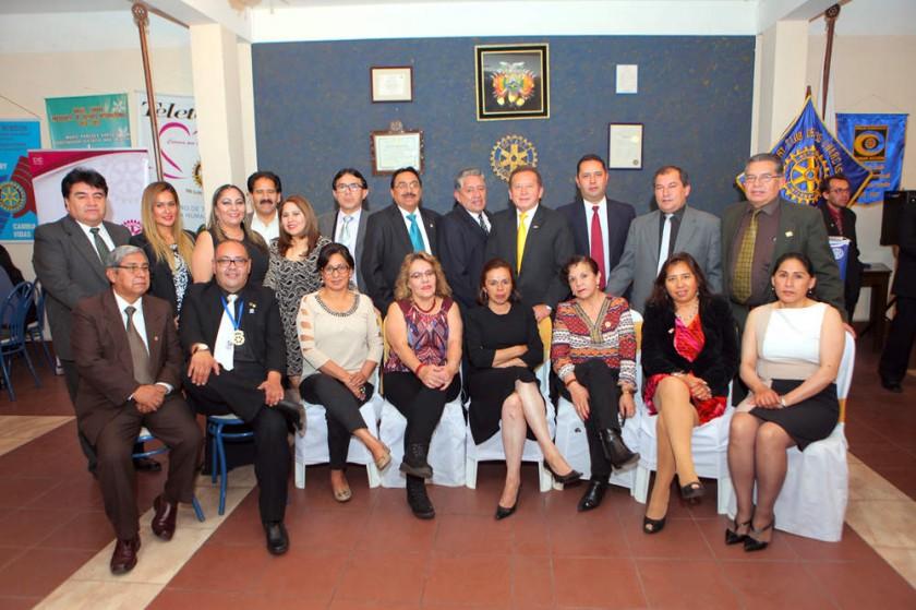 Rotary Club de los Charcas.