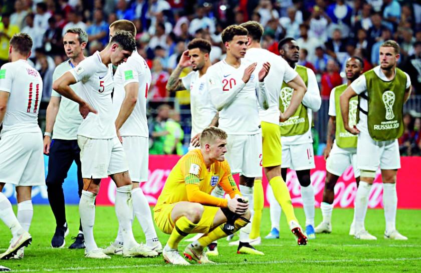 La selección inglesa tendrá que conformarse con disputar el tercer puesto.