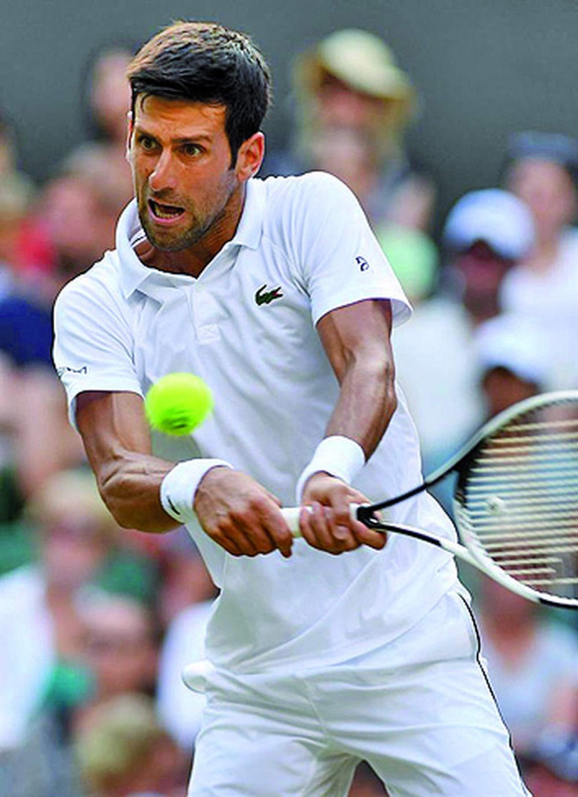 El español y el serbio jugarán por un lugar en la final de Wimbledon.