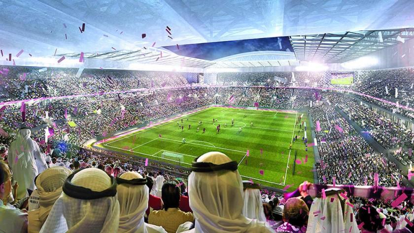 Así se proyectan los estadios para recibir el Mundial de Qatar dentro de cuatro años.
