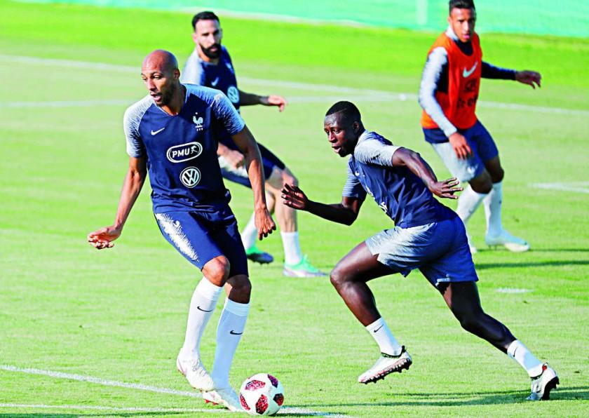 Las selecciones de Francia y Croacia se alistan para disputar mañana, domingo, el último partido de la...