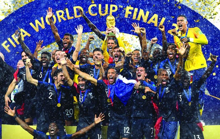 ¡Francia bicampeón!