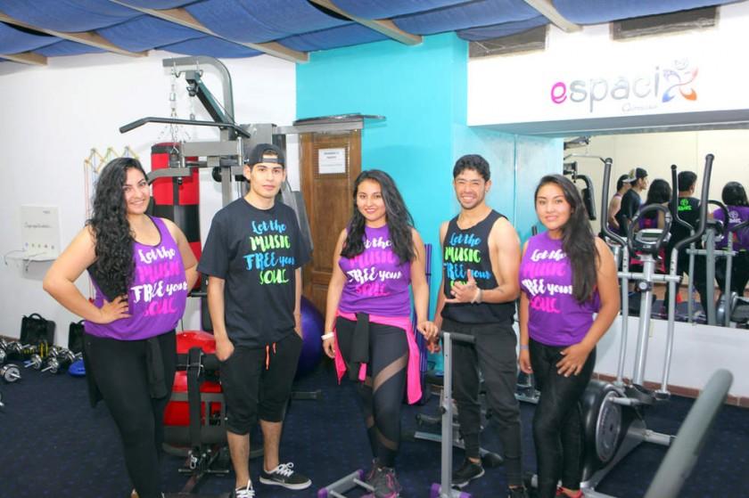 Instructores: Cecilia Sahonero, Joel Salamanca, Madelein Ramos, Gabriel Villarroel y Fabiola Ortuño.