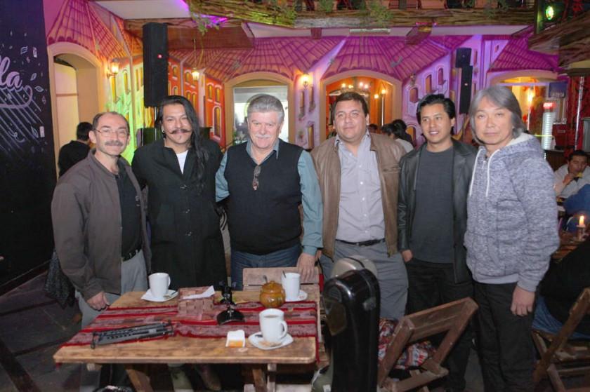 Fernando Arduz (Tarija), Harold Beizaga (Sucre), Eduardo Castañera (Arg-Brasil), Alexis Vallejos (Chile), Juan Vera (Par