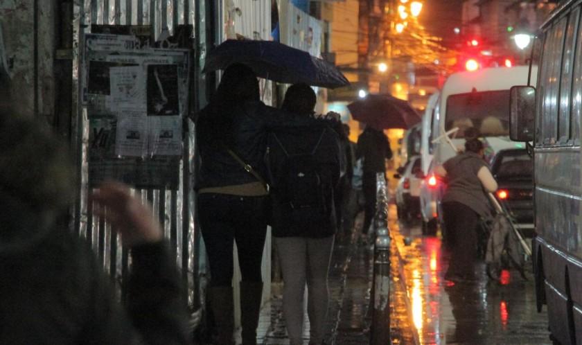 Una suave lluvia sorprender en la Capital. CORREO DEL SUR