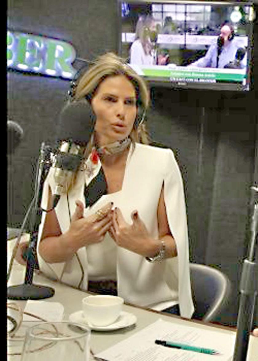 La periodista Jimena Antelo acusó al dirigente César Salinas.