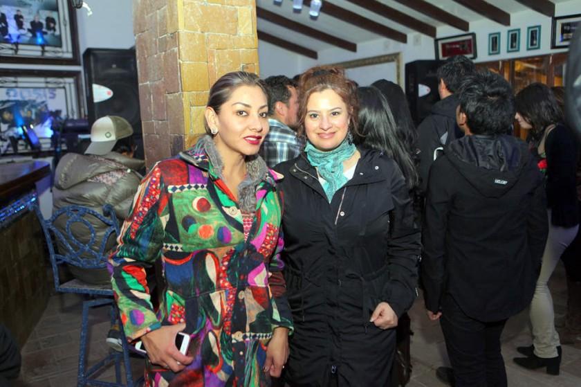 Ghilka Fajardo y Jenny Campero.