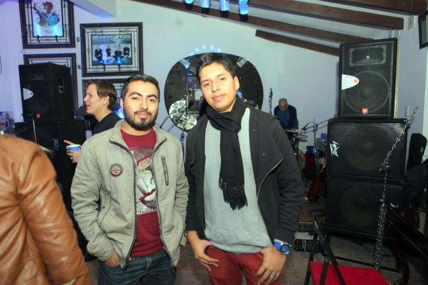 Sergio Martínez y Sergio Estrada.