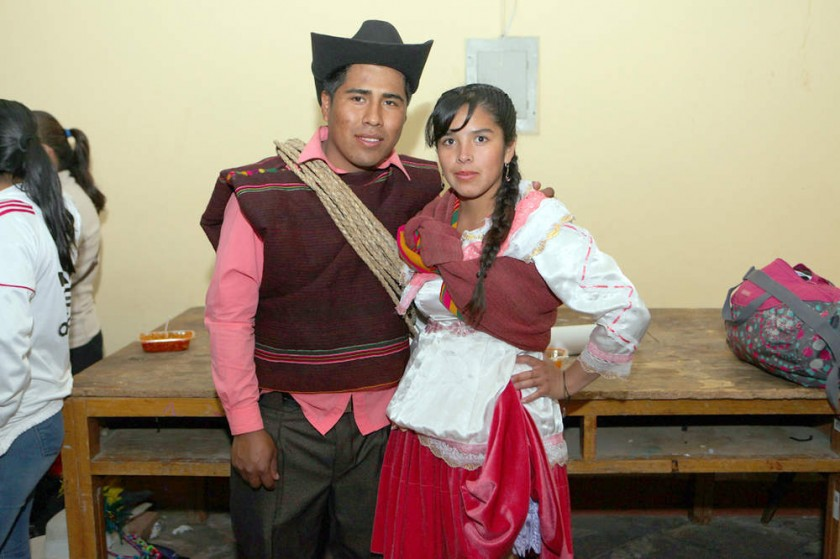 Edwin Arancibia y Marlene Sandoval,  Encanto Mojocoyano.