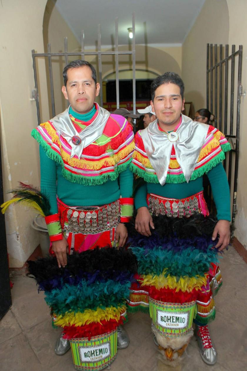 Tobas Guadalupe: Raúl Castillo y Gonzalo Barrientos.