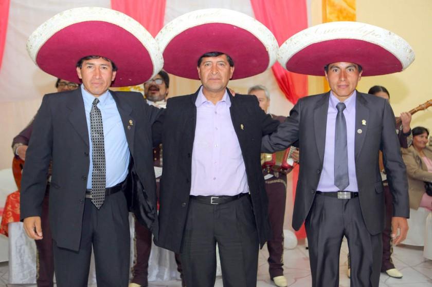 Árbitros FIFA Chuquisaca: José Jordán, Edgar Soliz  y Edward Saavedra.