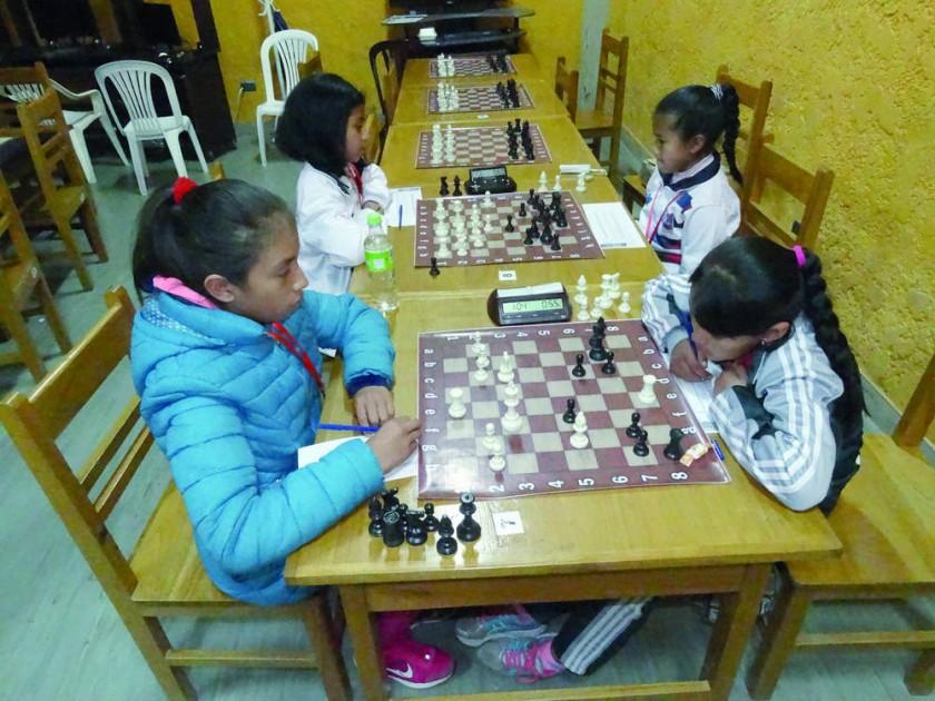 La competición de ajedrez concluyó ayer, en ambientes de la Asociación Departamental del estadio Patria.