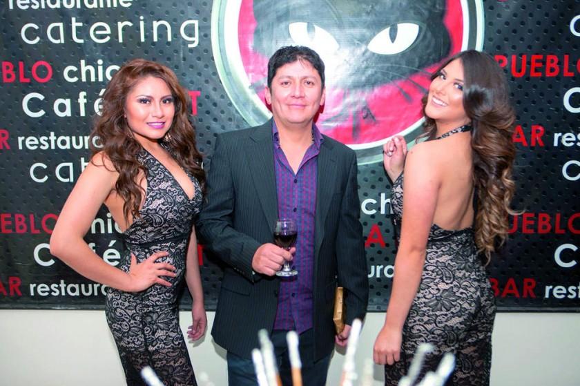 Jessica Salazar, Marco Prado y Natalia Rocha.