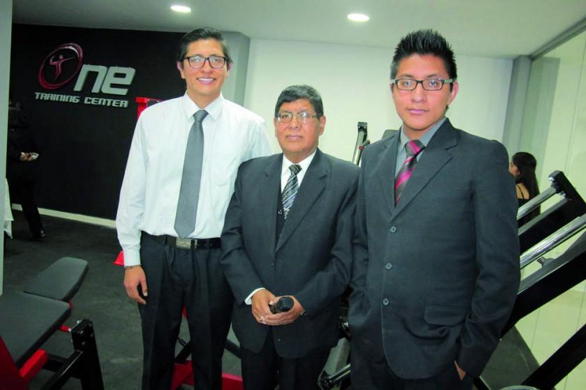 Marcelo, Ricardo y Gonzalo Quispe