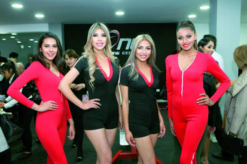 Angel Models: Daniela Miranda, Isabel Olmos, Jemima Ferreira, Alexa Sanché.
