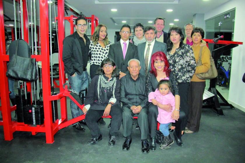 Familia Zamora y Hayes Michell.