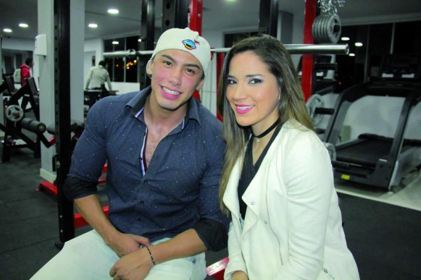 Carlos Gallo y Yamile Justiniano.