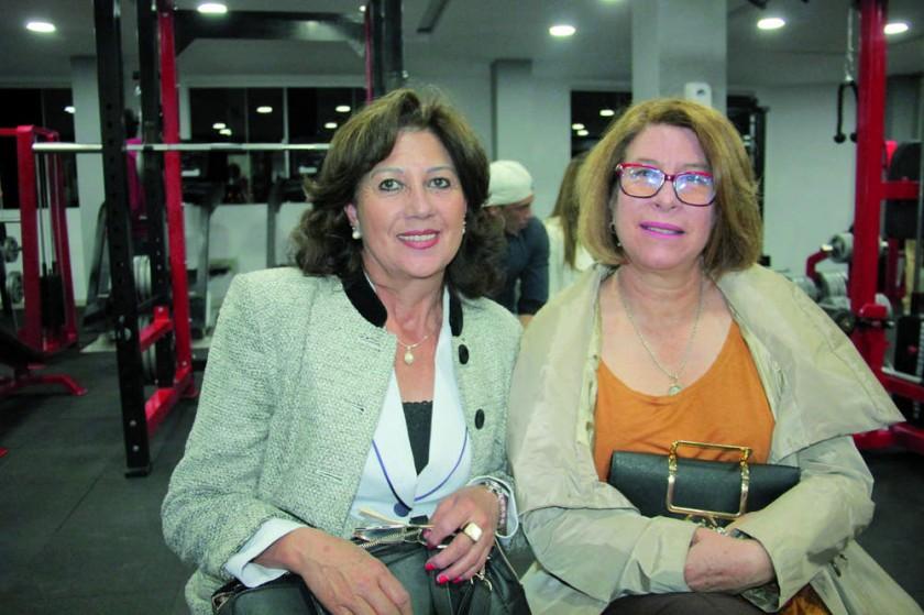 Irene Castro y Pilar Carvajal.
