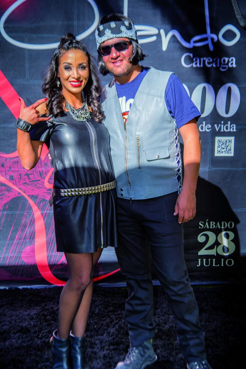 Daniela y Orlando Careaga.?